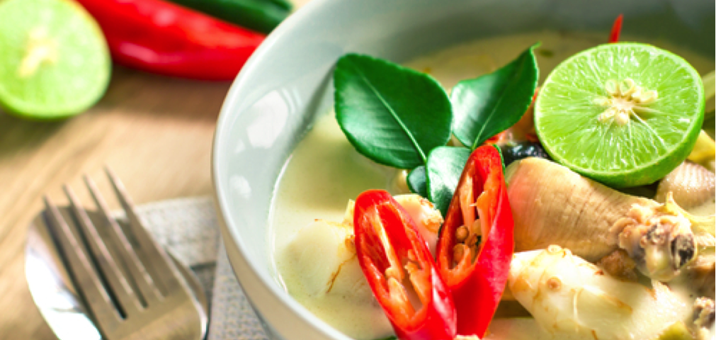 Adrenal Reset Diet - Thai Chicken Coconut Soup