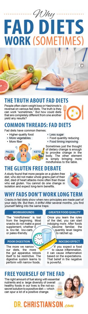 long term effects of fad diets