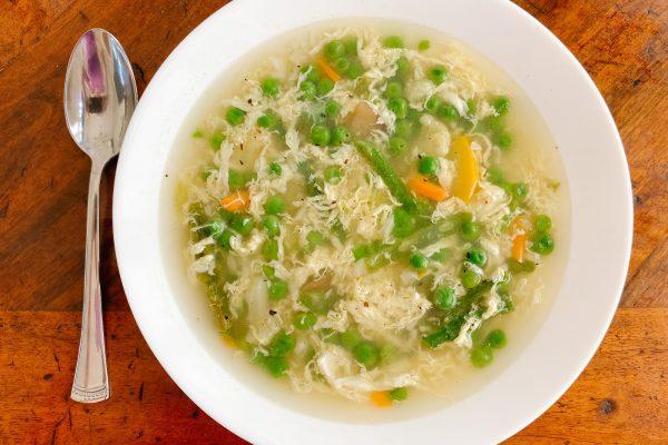 egg white drop soup